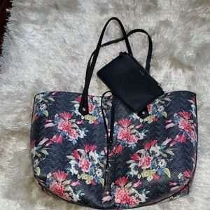 Beautiful ALDO Floral Tote Bag